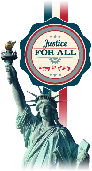Justice for All - Happy 4th of July